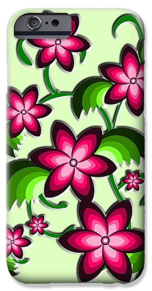 Cute iPhone Cases - Flower Arrangement iPhone Case by Anastasiya Malakhova