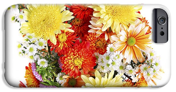 Floral Photographs iPhone Cases - Flower bouquet iPhone Case by Elena Elisseeva
