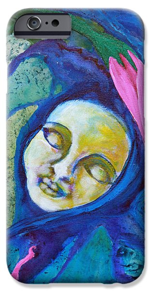 Flower Child Dreams iPhone Case by Shelley Bredeson