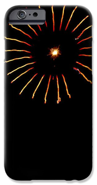 Flower Fireworks iPhone Case by Robert Bales