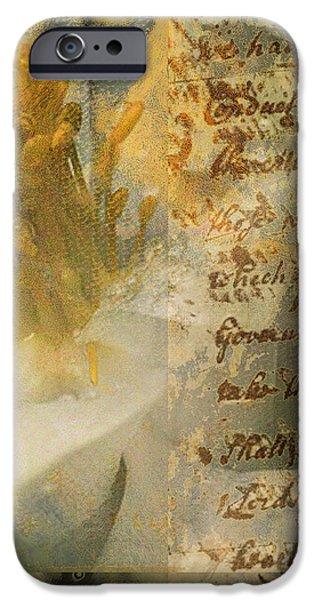 Flower II iPhone Case by Yanni Theodorou