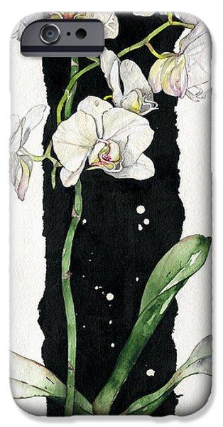 Flower ORCHID 05 Elena Yakubovich iPhone Case by Elena Yakubovich