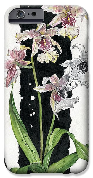 Flower ORCHID 06 Elena Yakubovich iPhone Case by Elena Yakubovich