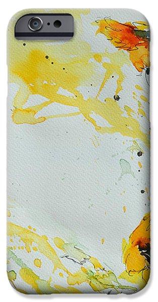 Flower Power- Sunflower iPhone Case by Ismeta Gruenwald