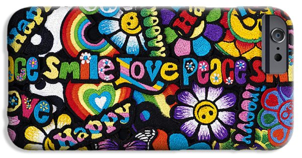 Sew iPhone Cases - Flower Power iPhone Case by Tim Gainey