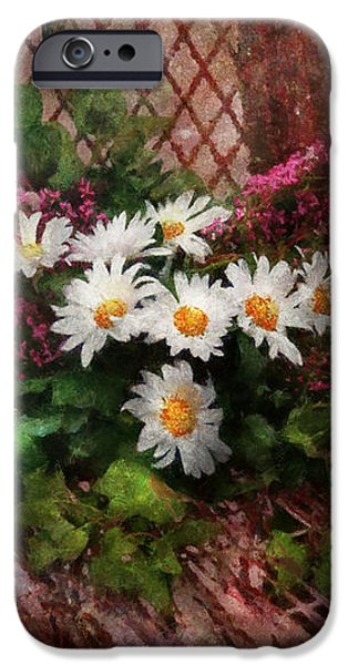 Flower - Still - Seat Reserved iPhone Case by Mike Savad