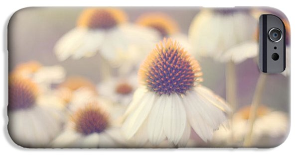 Cone Flower iPhone Cases - Flowerchild iPhone Case by Amy Tyler