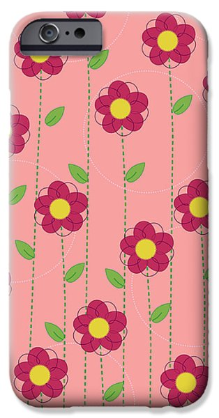 Flowers iPhone Case by Christy Beckwith