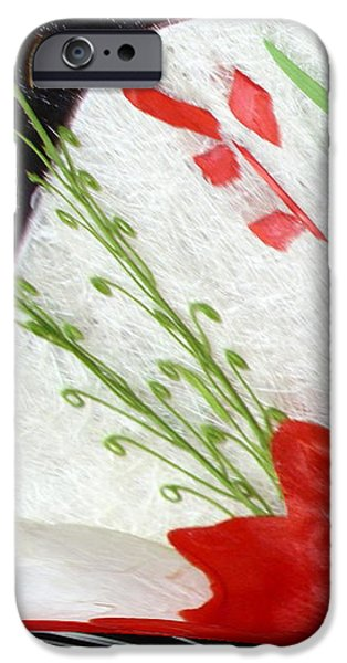 flowers iPhone Case by Gabriele Mueller