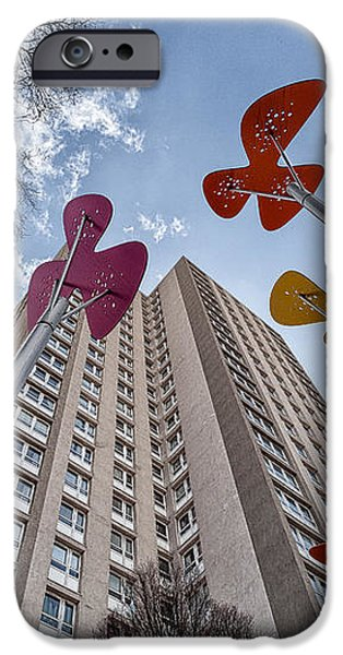 Flowers Glasgow iPhone Case by John Farnan