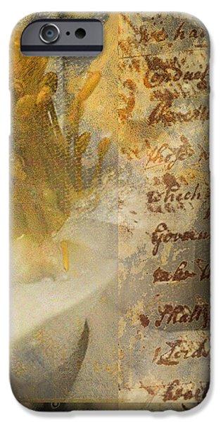 Flowers III iPhone Case by Yanni Theodorou
