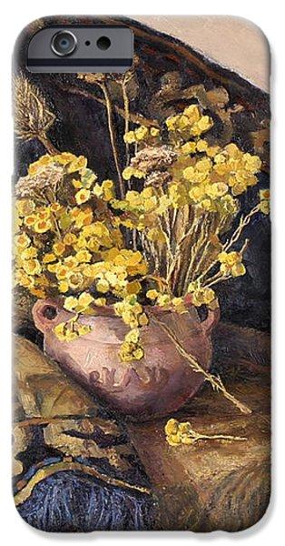 Flowers immorteles iPhone Case by Meruzhan Khachatryan