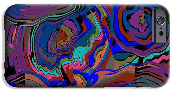 Abstract Digital Mixed Media iPhone Cases - Flowers Of Life iPhone Case by Rjf at beautifullart  RJ   Friedenthal