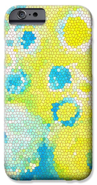 Yellow Images iPhone Cases - Flowers V iPhone Case by Patricia Awapara
