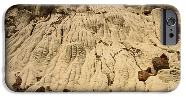 Wahweap iPhone Cases - Flowing Badlands iPhone Case by Adam Jewell