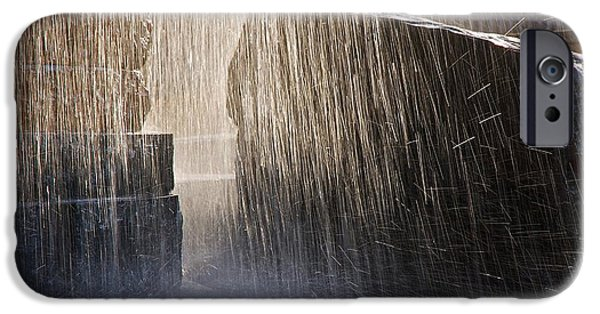 Smithsonian iPhone Cases - Flowing Water #2 iPhone Case by Stuart Litoff