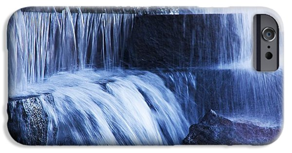 D.c. iPhone Cases - Flowing Water iPhone Case by Stuart Litoff