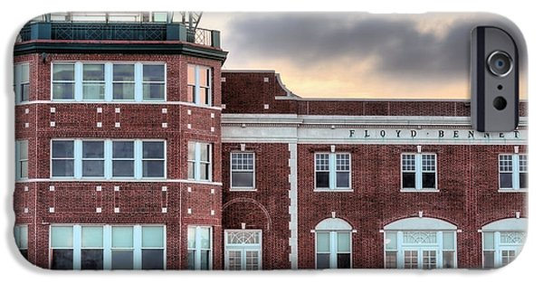 Traffic Control iPhone Cases - Floyd Bennett Field  iPhone Case by JC Findley