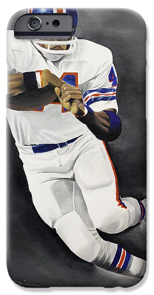 Floyd Little iPhone Case by Don Medina