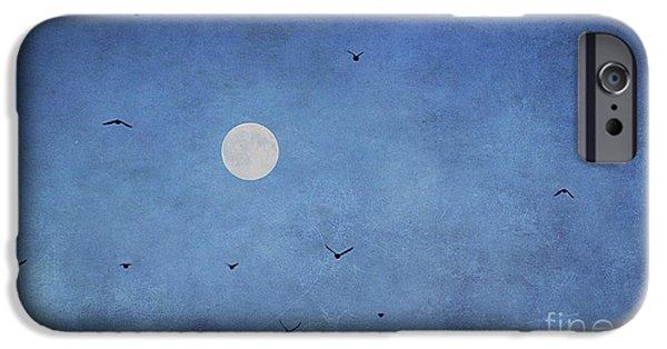 Creative Blackbird iPhone Cases - Fly Away iPhone Case by Darren Fisher