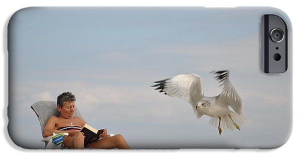 Unset iPhone Cases - Fly Away iPhone Case by Tomas Zohar