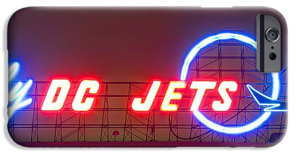 Flight iPhone Cases - Fly DC Jets iPhone Case by Heidi Smith