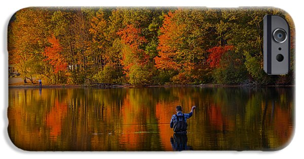 Recently Sold -  - Boston Ma iPhone Cases - Fly Fishing iPhone Case by Brian MacLean