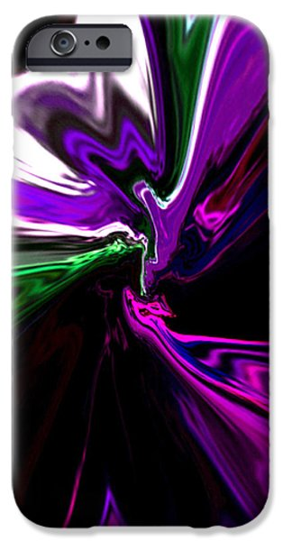 Abstract Digital Mixed Media iPhone Cases - Fly Me To The Moon by RjFxx. iPhone Case by Rjf at beautifullart  RJ   Friedenthal