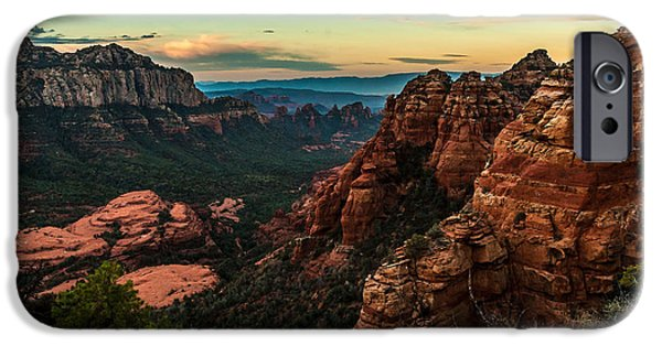 Cathedral Rock iPhone Cases - Flying Buttress 04-202 iPhone Case by Scott McAllister