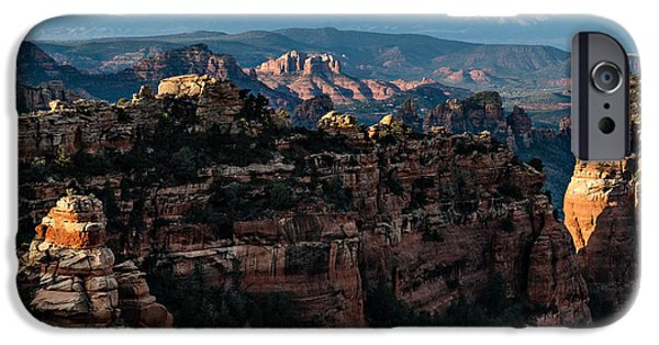 Cathedral Rock iPhone Cases - Flying Buttress 04-226 iPhone Case by Scott McAllister