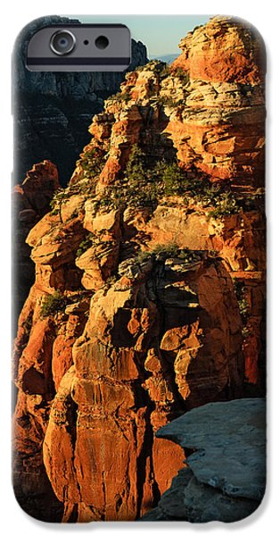 Sedona iPhone Cases - Flying Buttress 06-034 iPhone Case by Scott McAllister