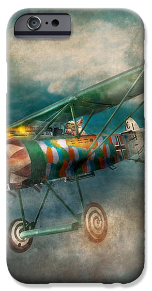 Flying Pig - Acts of a pig iPhone Case by Mike Savad
