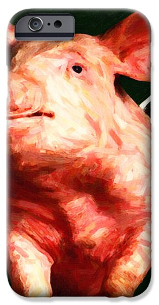 Flying Pigs v1 iPhone Case by Wingsdomain Art and Photography