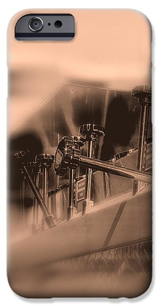 Foam Tank A Fire Engine Number Four iPhone Case by Bob Orsillo