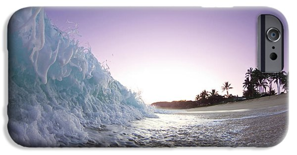 Seascapes iPhone Cases - Foam Wall iPhone Case by Sean Davey
