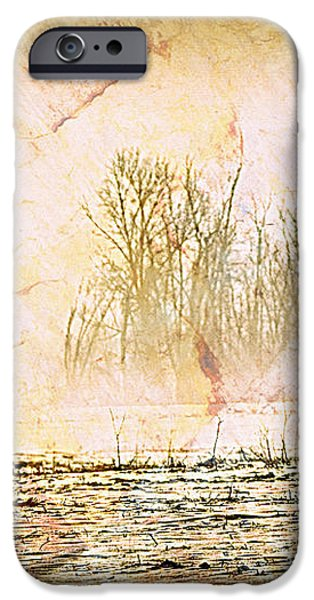 Fog Abstract 4 iPhone Case by Marty Koch