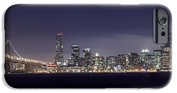 Fog iPhone Cases - Fog City San Francisco iPhone Case by Mike Reid
