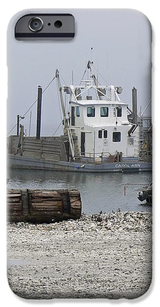 Foggy Harbor iPhone Case by Pamela Patch