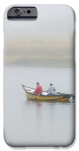 Foggy Nestucca iPhone Case by Mike  Dawson