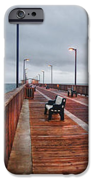 Foggy Pier  iPhone Case by Michael Thomas