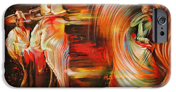 Human Figure iPhone Cases - Folklore iPhone Case by Karina Llergo Salto