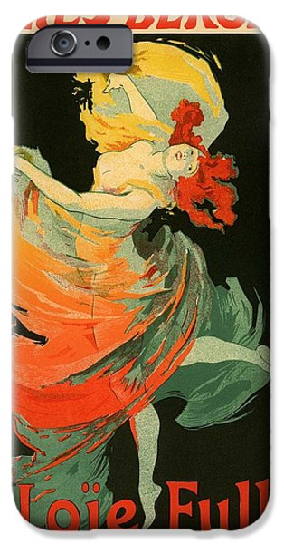 Pres iPhone Cases - Follies Bergere iPhone Case by Gianfranco Weiss