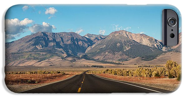 Road Travel iPhone Cases - Follow Your Dreams iPhone Case by Everet Regal