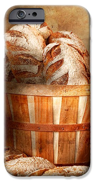 Food - Bread - Your daily bread iPhone Case by Mike Savad