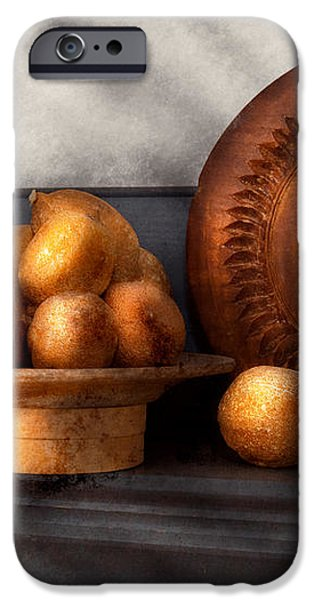 Food - Lemons - Winter spice  iPhone Case by Mike Savad
