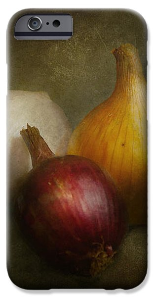 Food - Onions - Onions  iPhone Case by Mike Savad