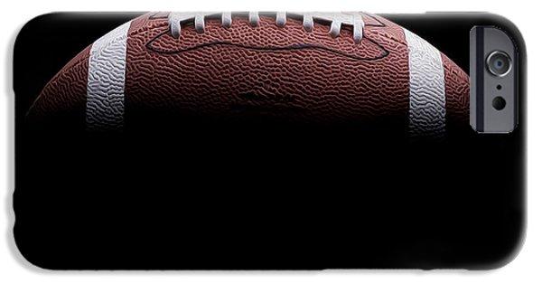 Minnesota iPhone Cases - Football Painting iPhone Case by Jon Neidert