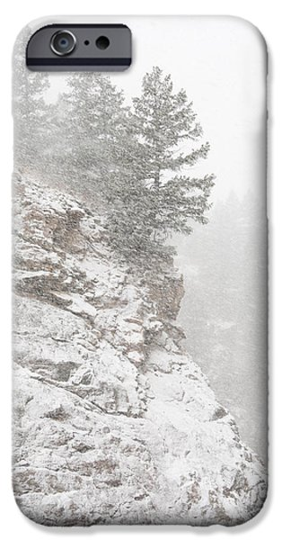 Storm iPhone Cases - Foothills Frenzy iPhone Case by Morris  McClung