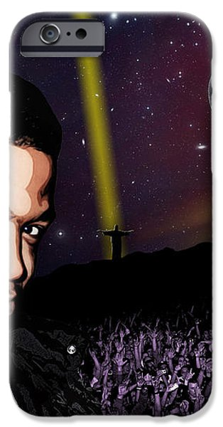 For even in hell - Kid Cudi iPhone Case by Dancin Artworks