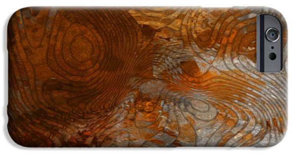 Stainless Steel iPhone Cases - For The Love Of Rust iPhone Case by Jack Zulli